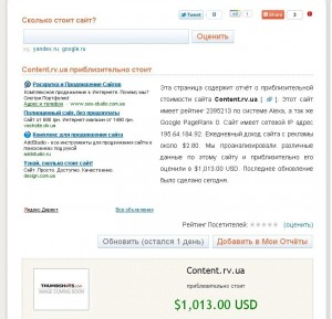 Сколько стоит блог